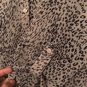 Pins & Needles Tops - Pins & Needles Leopard Print Top